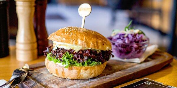 Kačací burger v domácej žemli