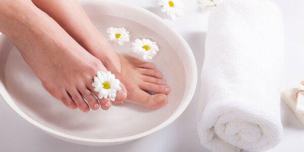 Až 3 druhy profi pedikúr pre krásu vašich nôh