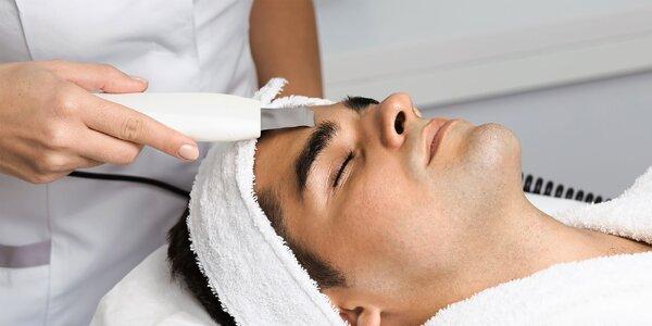 Hĺbkové čistenie pleti pre mužov