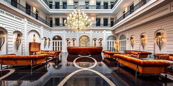 Jedinečný hotel v centre Budapešti s wellness