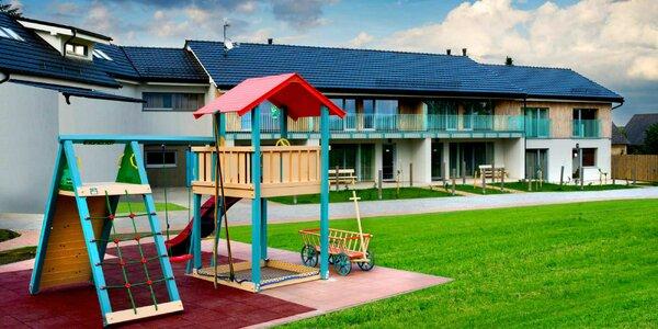 Novovybudovaný apartmánový komplex s wellness