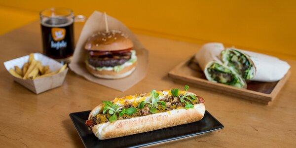 Obľúbené burgre, hotdogy a wrapy vo Feste!