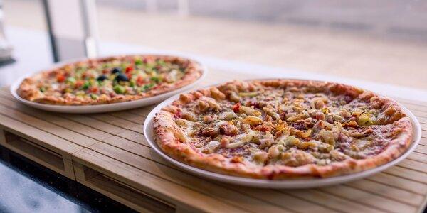 Pizza podľa vlastného výberu aj s možnosťou donášky