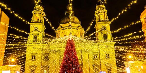 2-dňová predvianočná Budapešť aj s návštevou termálov