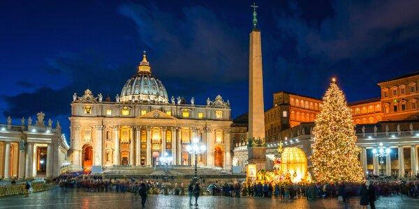 4-dňový zájazd do Ríma a Vatikánu vo vianočnom období