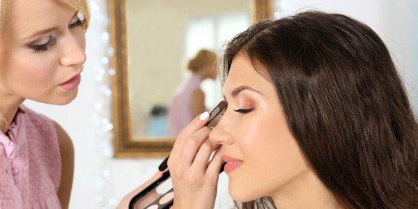 Kurz líčenia, vizážistky či workshop o líčení očí
