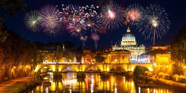 Nezabudnuteľný Silvester v Ríme aj so sektom pre pár