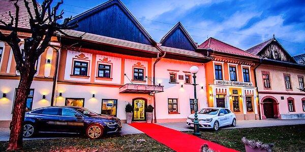 Hotel Hviezdoslav**** s neobmedzeným wellness a výbornými ubytovacími službami + Silvester