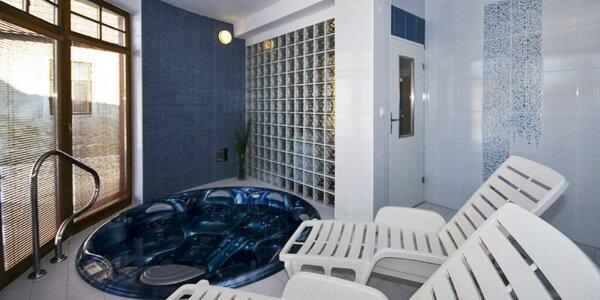 Pobyt v apartmánoch na Liptove s výhľadom na Kriváň, mini wellness a záhradou
