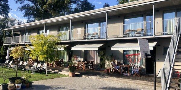 Pobyt v štýlových apartmánoch Vlnka so vstupom do saunového sveta