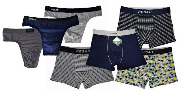 Pánske boxerky a slipy: bavlnené alebo bambusové
