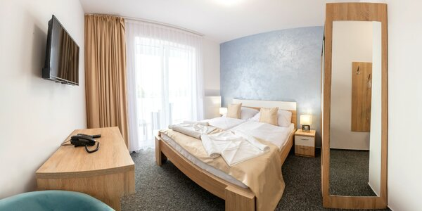 Pobyt v novom Hoteli Prístav*** na brehu Oravskej priehrady