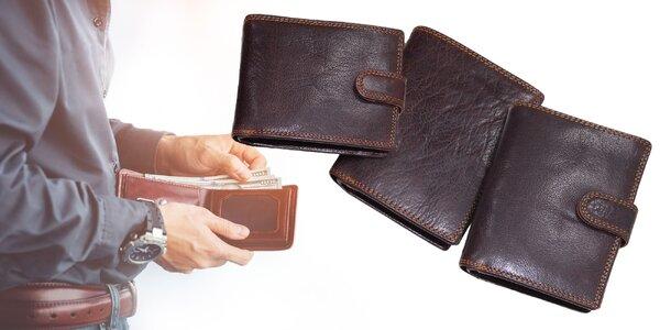 Pánske peňaženky z prémiovej kože s ochranou kariet
