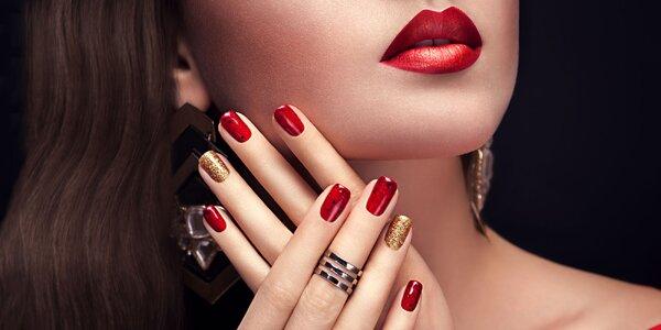 Krásne upravené gélové nechty