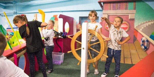 Vstup do detskej interaktívnej galérie Dobrá Hračka