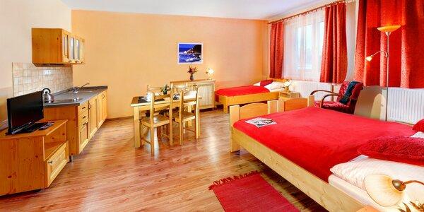 Príjemné apartmány a štúdiá v Tatranskej Lomnici