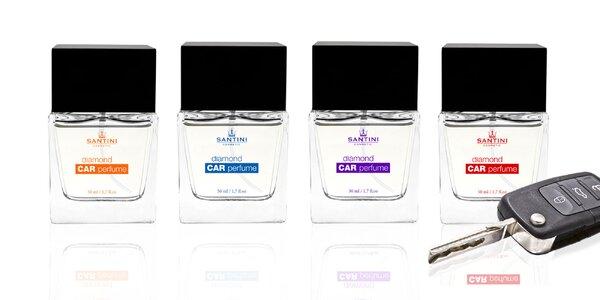 Svieže autoparfémy Diamond vrátane v štyroch vôňach