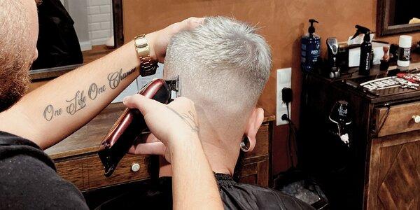 Pánsky strih a úprava brady v Barbershop30!