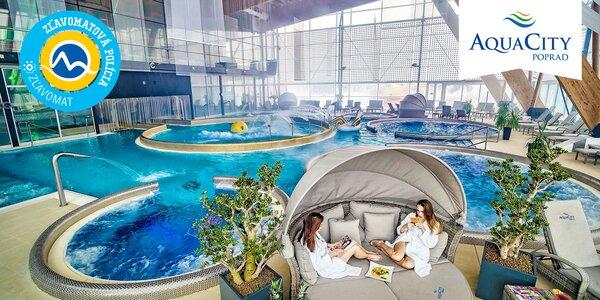 Celodenný vstup do Aquaparku AquaCity Poprad