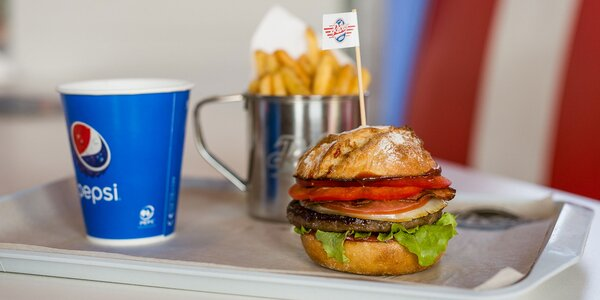 Vynikajúci Las Vegas burger v Retro Carburger-i!