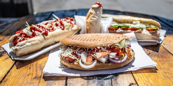 Legendárny Richman, burger, bageta alebo americký hotdog