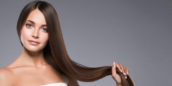 Zdravé a vyrovnané vlasy s brazílskym keratínom!
