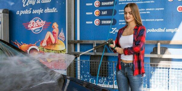 Voucher na viacnásobné umytie auta v hodnote 20, 30 či 50 €!