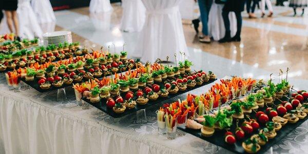 Kompletné cateringové menu na rôzne typy akcií