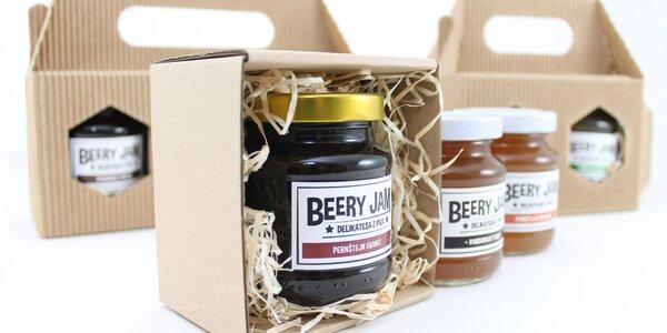 Originálne pivné džemy v darčekovom balení
