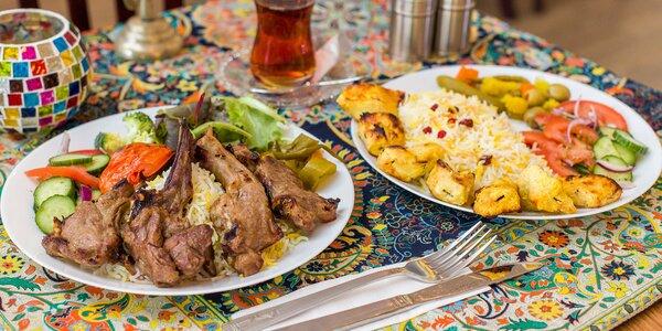 Tradičné špeciality v perzskej reštaurácii