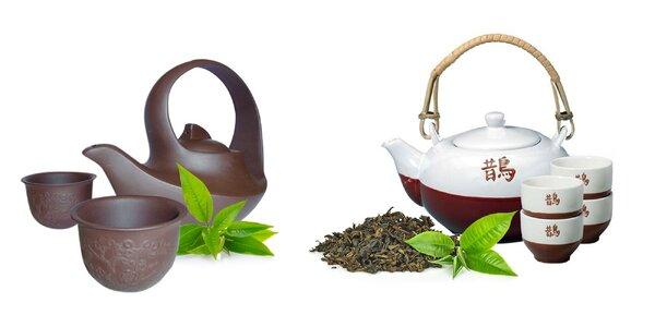 Pre milovníkov čaju: čajové sety konvičiek a šálok