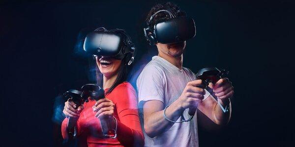 Pohybový simulátor Virtuix Omni™ vo VR aréne