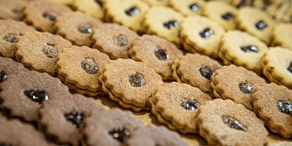 Chutné balenie vianočných či lineckých koláčikov