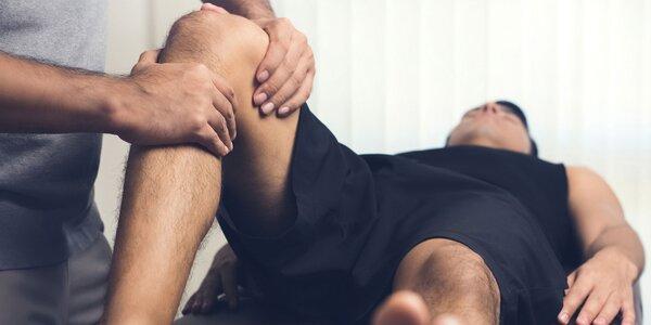 Rekondičná masáž nôh alebo chrbta + tejping