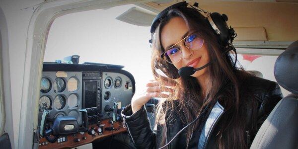 Zážitkový let s možnosťou pilotovania