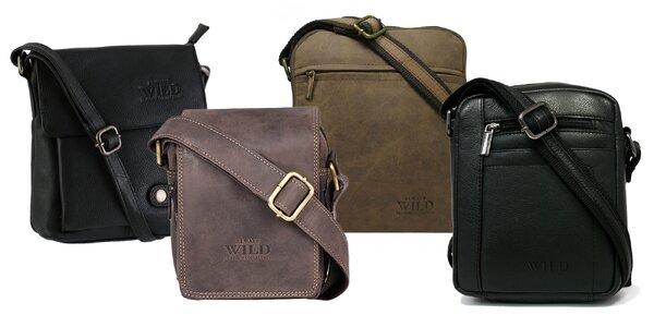 Atraktívne a praktické kožené tašky pre mužov