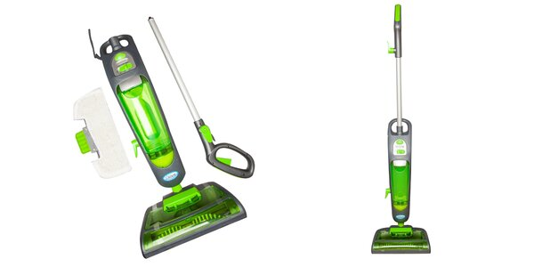 Šikovný parný čistič na podlahy Aqua Laser Special Edition 2v1