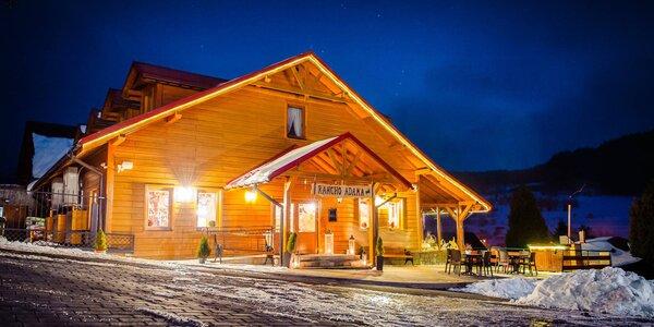 Pobyt na ranči v poľských horách: wellness, chutná strava a vianočný variant
