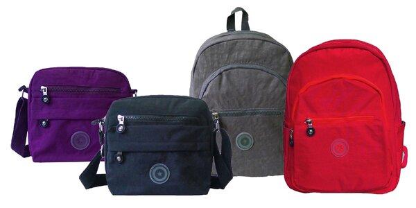 Športové crossbody tašky a batohy pre každého