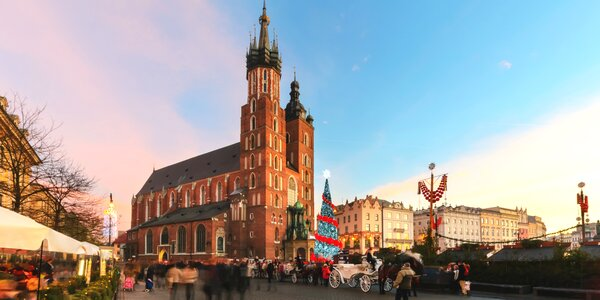 Vianočná atmosféra a tradičné dobroty v Krakowe