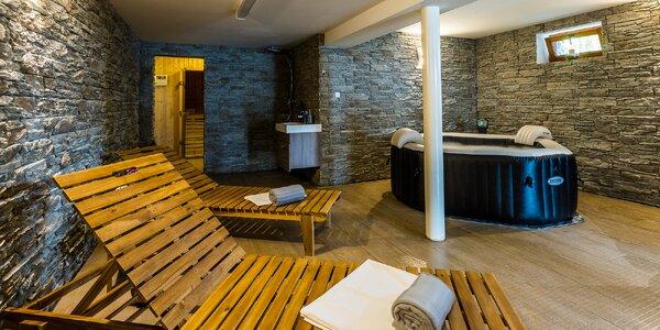 Vychýrený Slanícky dvor na brehu Oravskej priehrady s privátnym wellness a aktivitami