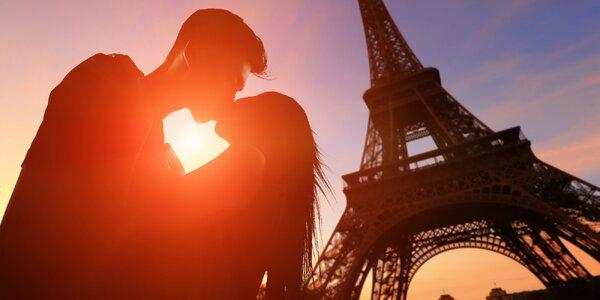 Valentínsky poznávací zájazd do Paríža s romantickým programom