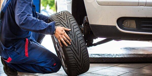 Výmena kolies či kompletné prezutie pneumatík v Trnave
