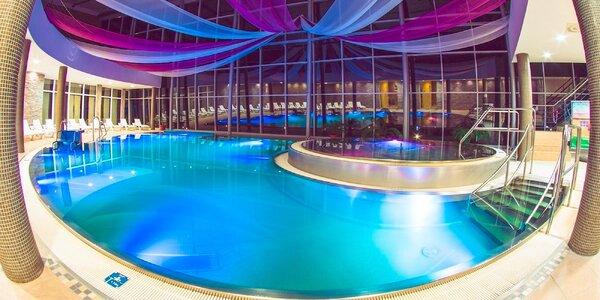 Špičkový wellness pobyt s neobmedzeným vodným a saunovým svetom