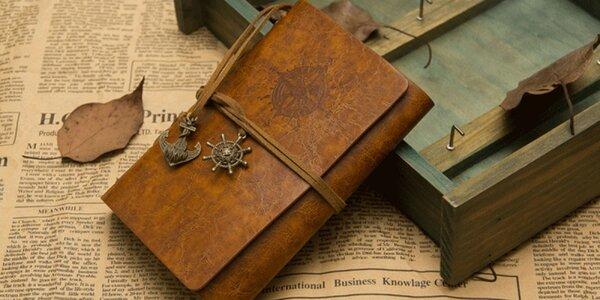 Cestovateľské zápisníky - na výber zo 4 modelov