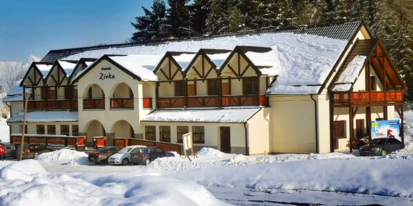 Pobyt so skipasom alebo wellness pri lyžiarskom stredisku
