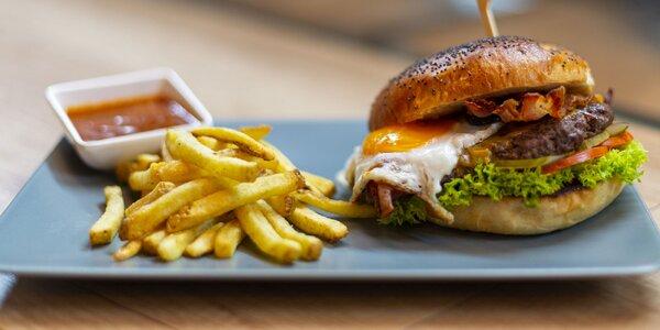 Zahryznite si do šťavnatých domácich burgerov