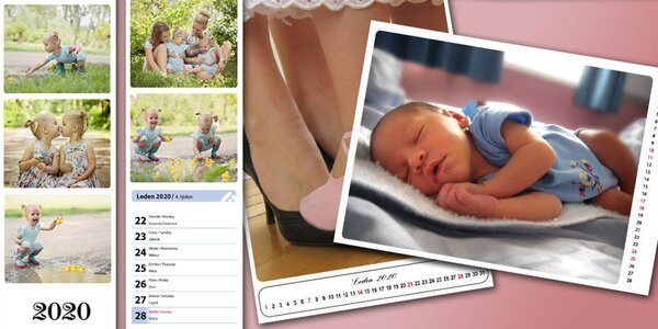 Fotokalendáre z vlastných fotografií
