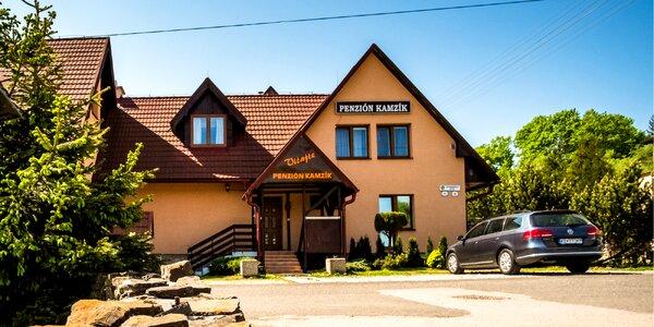 Dovolenka pod Tatrami v Penzióne Kamzík*** s relax zónou a polpenziou