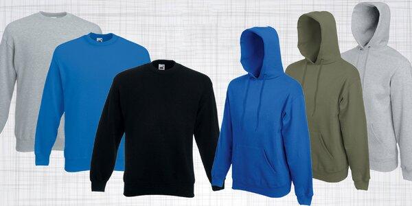 Pánske svetre a mikiny na bežné nosenie